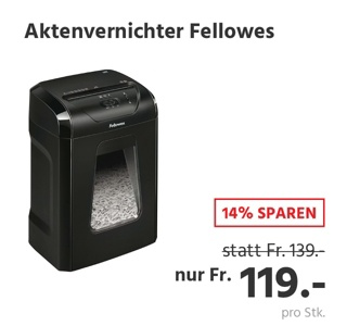 Aktenvernichter Fellowes Powershred