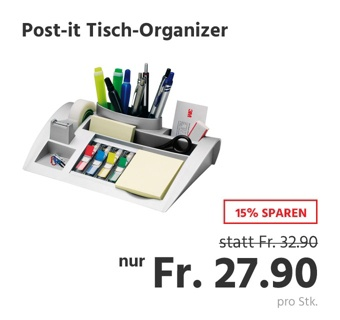 Post-it Tisch-Organizer