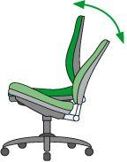 Bürostuhl mit Wippmechanik