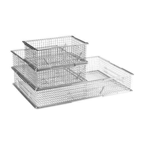 Gitterkörbe und Gitterboxen in verschiedenen Grössen