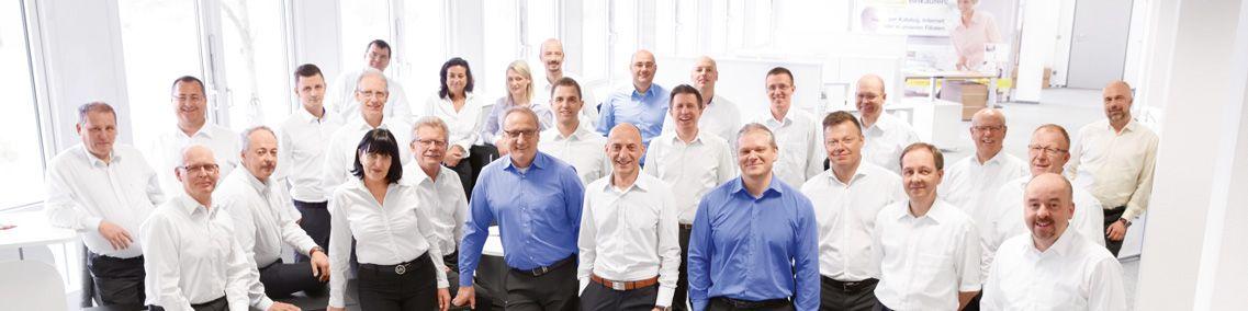 Das Schäfer Shop Außendienst-Team