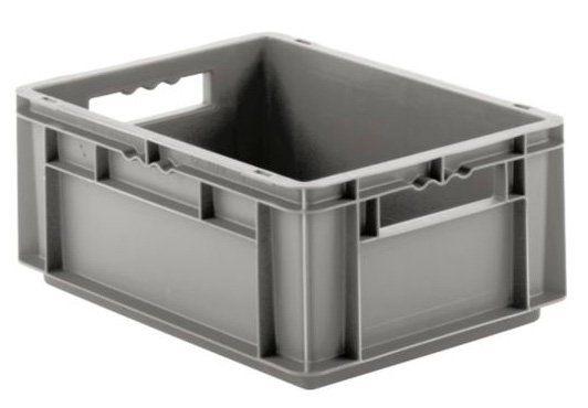 Grauer Eurofixkasten aus Kunststoff