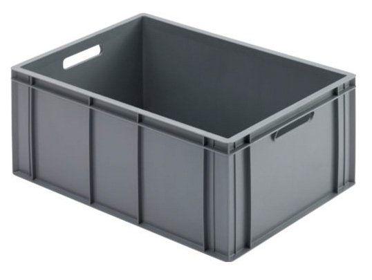 Lebensmittelechte graue Euro-Mass-Box