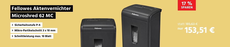 Fellowes Aktenvernichter Microshred 62 MC
