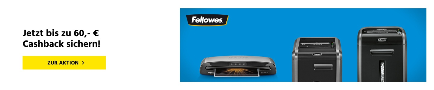 Fellowes CashBack Aktion