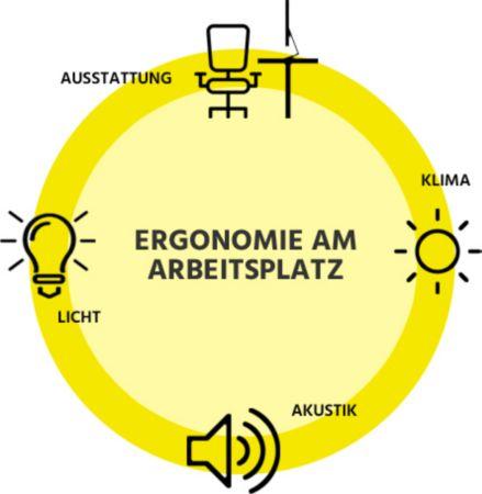 4 Bereiche der Ergonomie