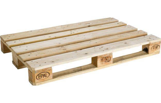 Europalette aus Holz