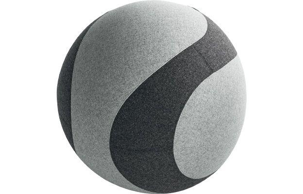 Bürohocker mit integriertem Sitzball