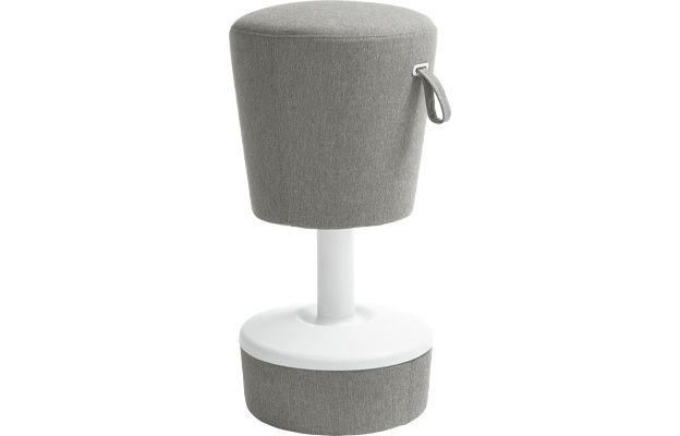 Modischer Sitz-Stehhocker fürs Büro