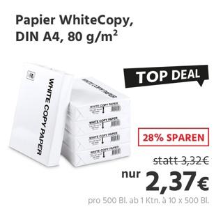 Kopierpapier WhiteCopy
