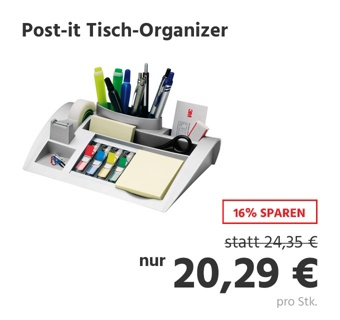 Post-it Tisch-Organizer