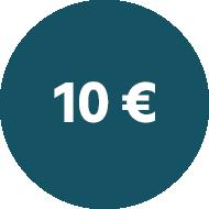 10 € Rabatt  sichern