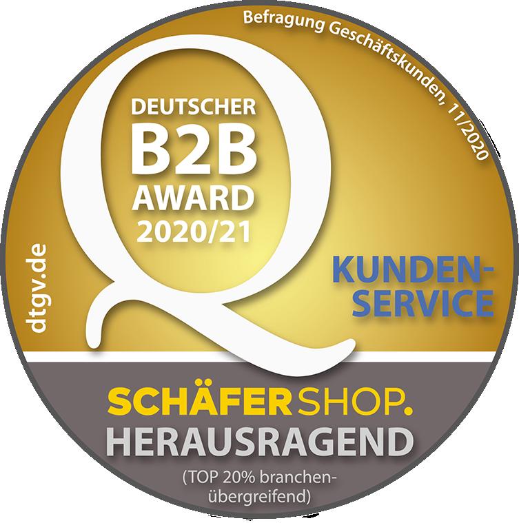 Deutscher B2B Award Kundenservice