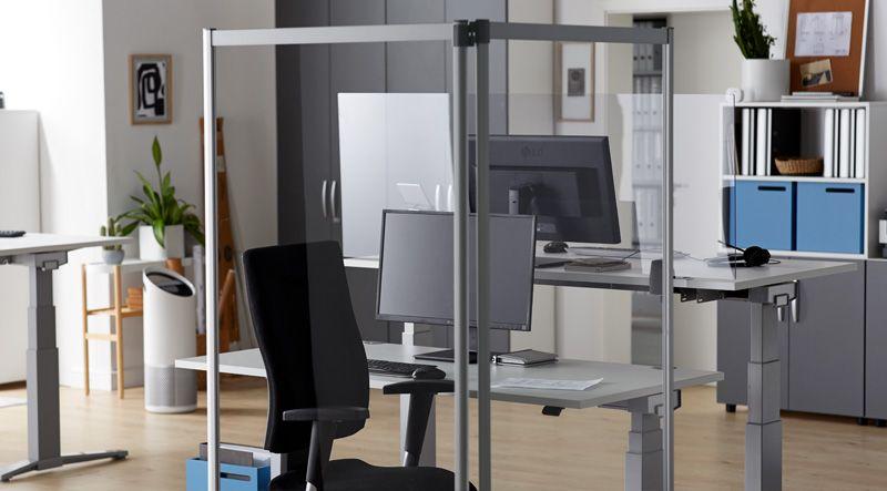 Ein Büro für zwei Personen