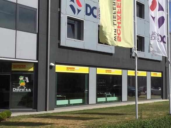 Gebäude Schäfer Shop