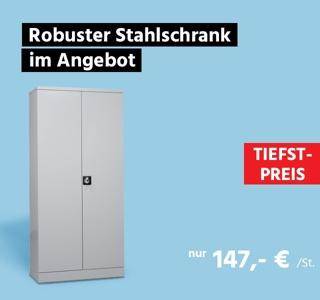 Stahlschrank, B 920 x T 420 x H 1950 mm