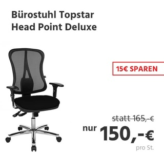 Bürostuhl Topstar HEAD POINT DELUXE