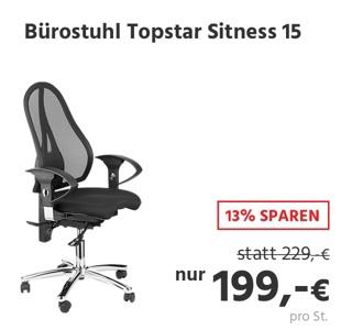 Bürostuhl Topstar Sitness 15