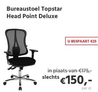 Bureaustoel Topstar Head Point Deluxe