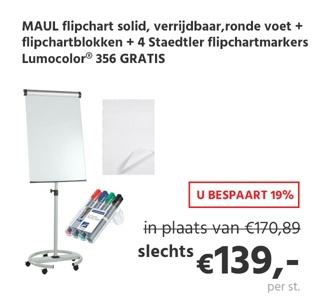 Flipchart MAULsolid