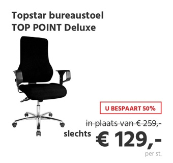 Topstar bureaustoel TOP POINT Deluxe