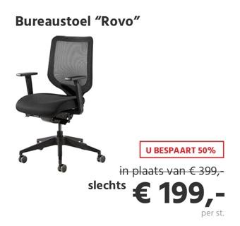 Bureaustoel ROVO XT
