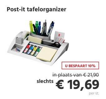 Post-it tafelorganizer
